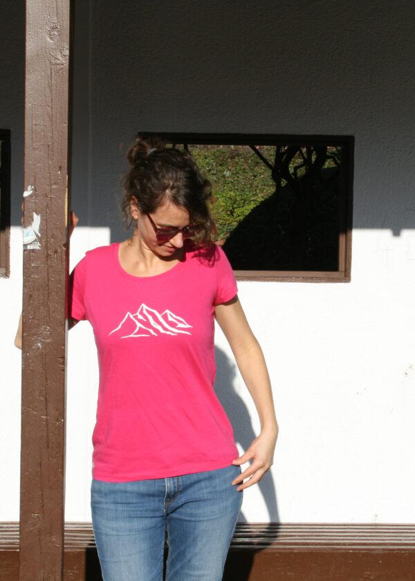 Berg T-Shirt rosa