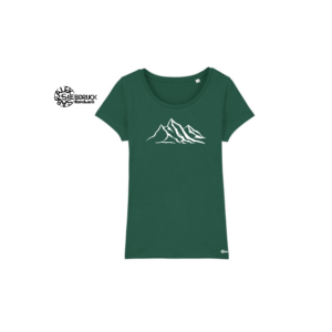 Bio Baumwolle T-Shirt Ladies 'Berge'