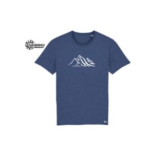 Bio Baumwolle T-Shirt 'Berge'