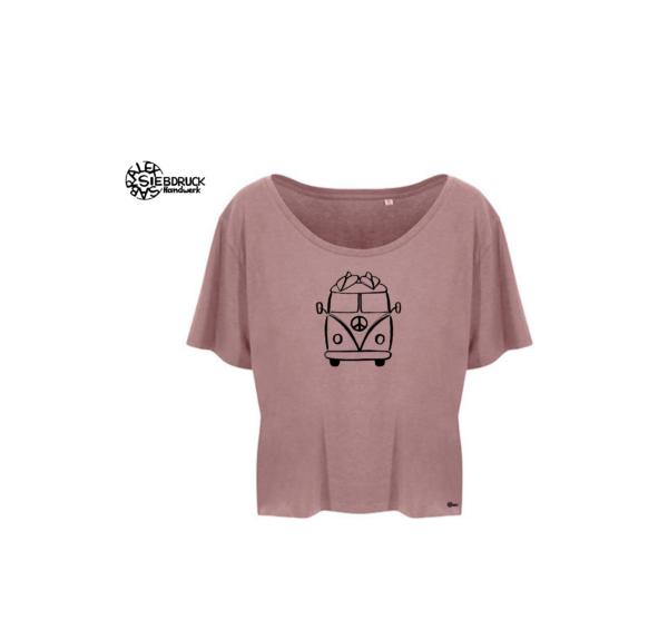 kurzes Frauenshirt Ecoviskose