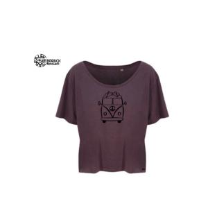 Ecoviskose T-Shirt Ladies 'Surferbus'