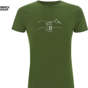Bambus T-Shirt 'Skitour'