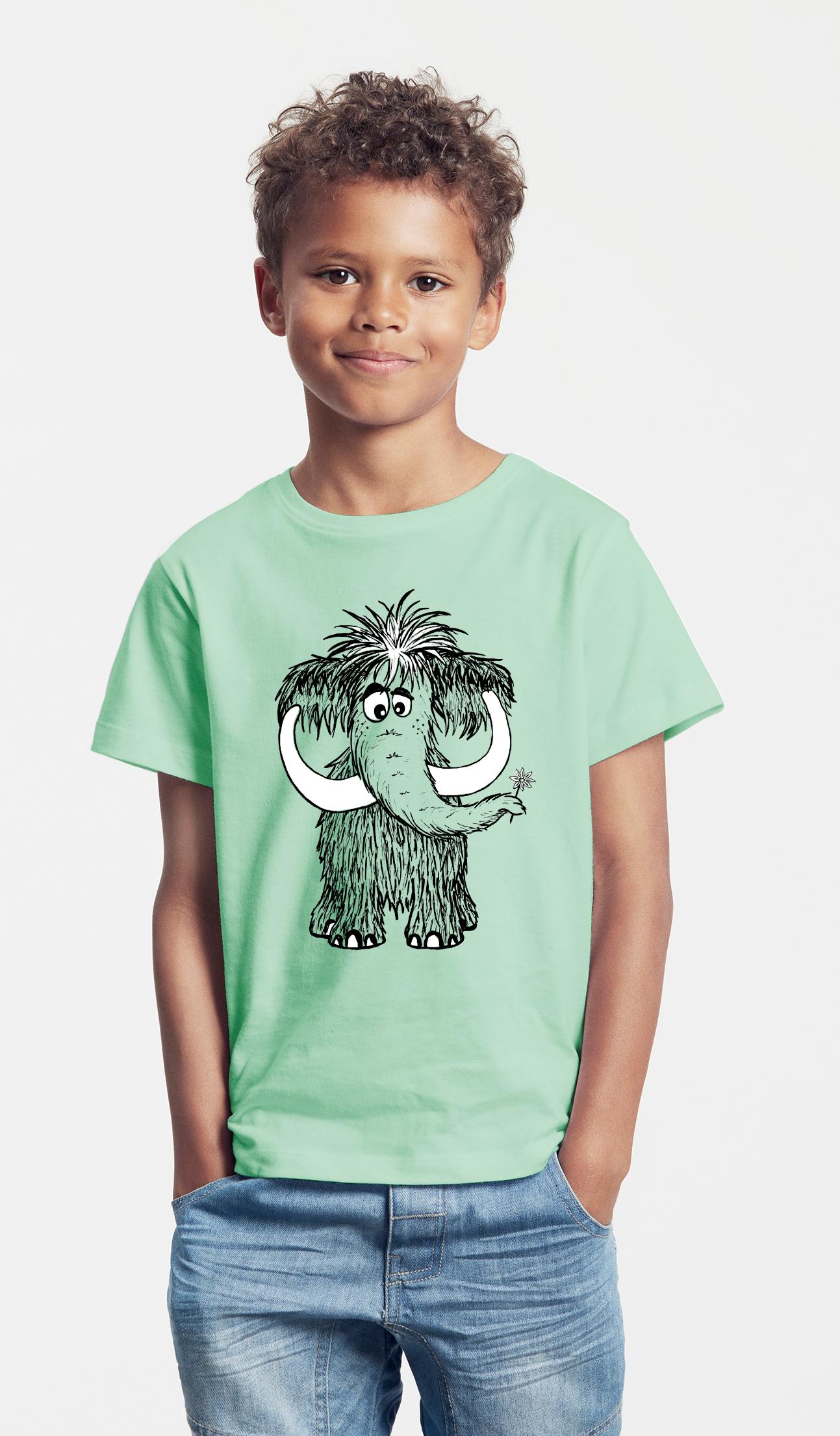 Kinder T-Shirt minze Mammut