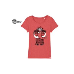 Bio Baumwolle T-Shirt Ladies 'Mammut'