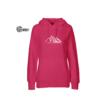 Berge pink hoodie bio