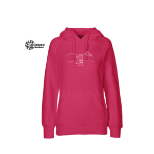 Ladies – Hoodie 100% Biobaumwolle 'Skitour'