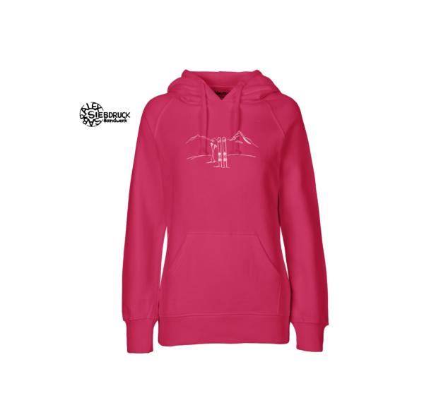 Skitour Pink Hoodie Ladies