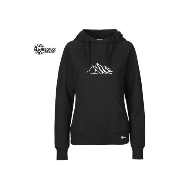 berge hoodie ladies bio
