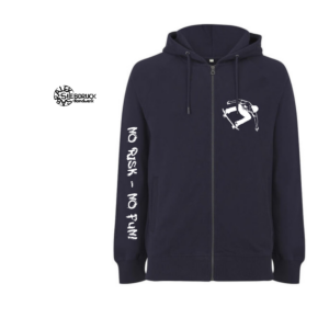 Zipper-Hoodie 100% Biobaumwolle 'Skater'