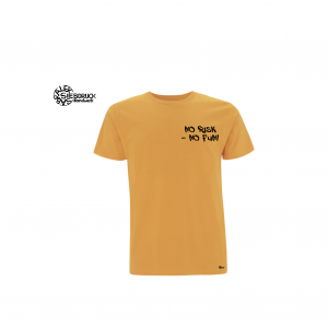 "Bio T-Shirt Männer  ""No risk – no fun"""
