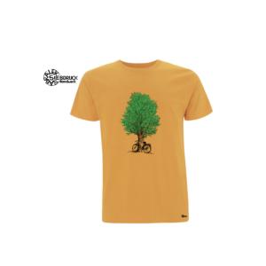 Bio T-Shirt Baum mit Radl
