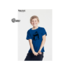 Kinder T-Shirt blau mit Skater
