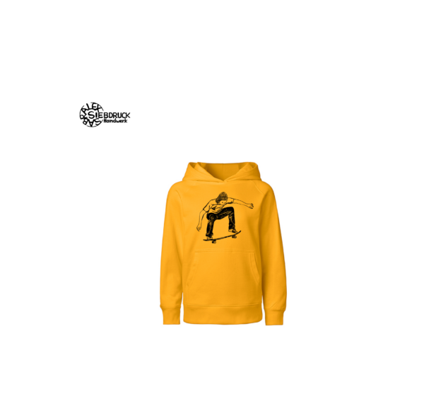 skater hoodie kids bio