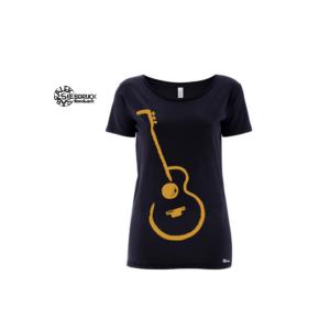 Bio T-Shirt goldene Gitarre