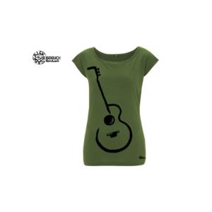 Bambus T-Shirt Gitarre