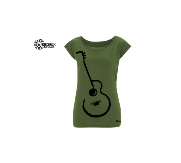 Gitarre Biobambus shirt