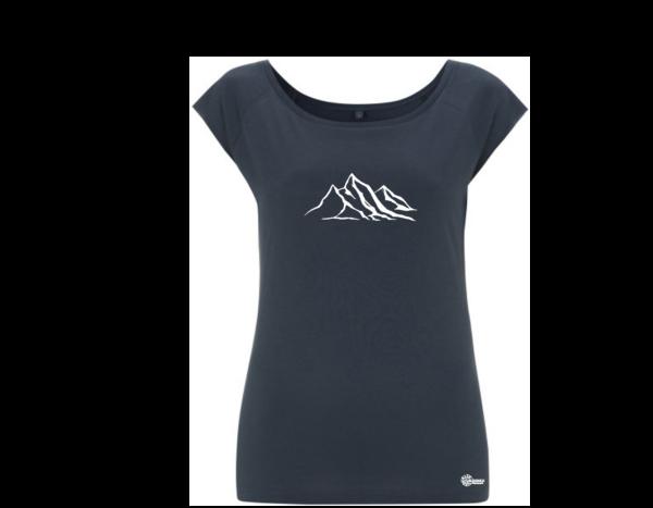 bio shirt frauen bergen